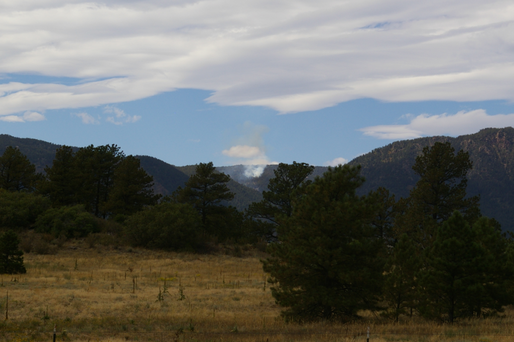 Mt Herman Fire