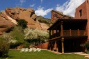 Back Porch at Red Rocks Trading Post